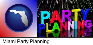 Miami, Florida - party planning